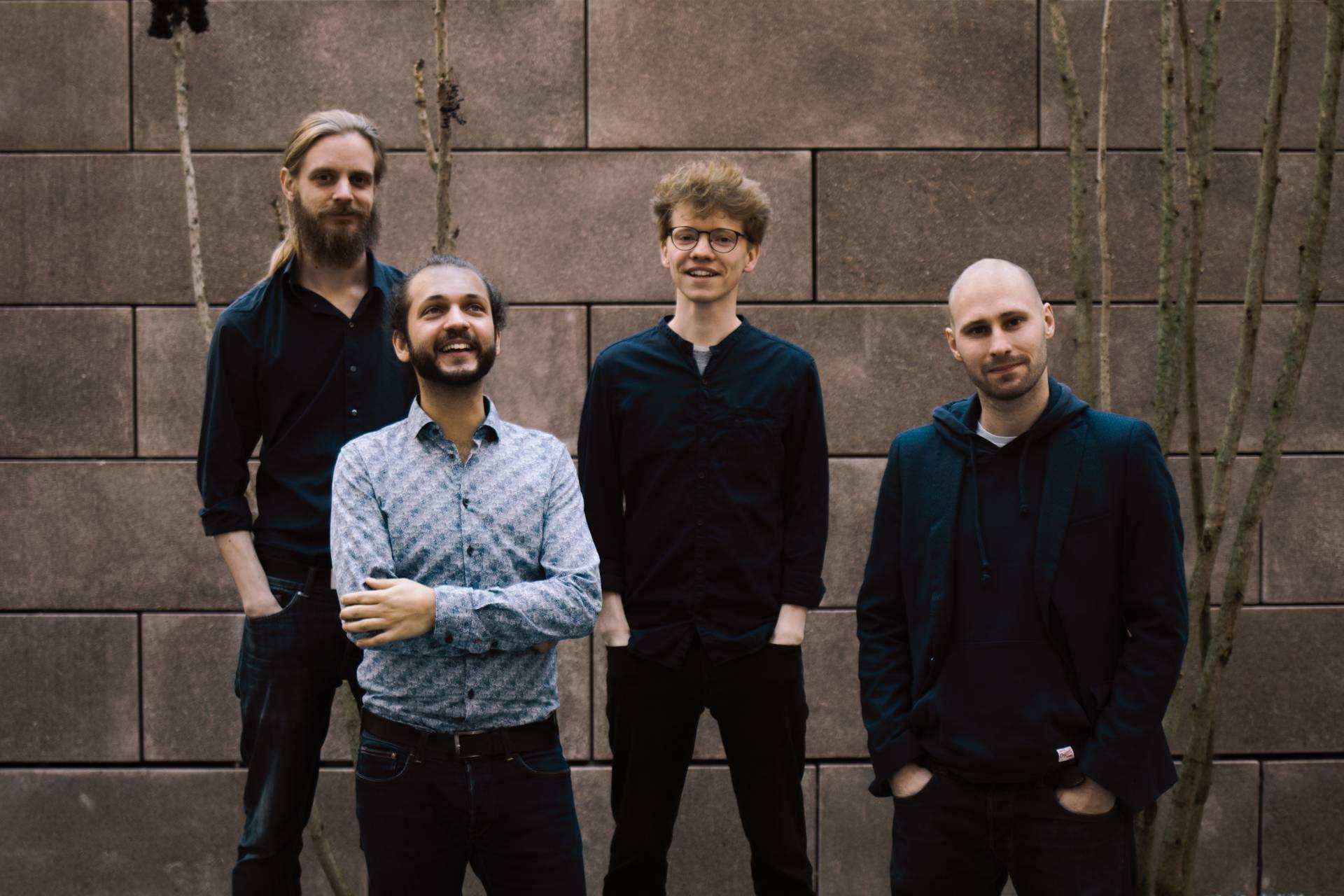 David Soyza Quartett Michael Schumacher Stephan Goldbach Florian Fischer Band Deutschland Osterreich Musiker 14
